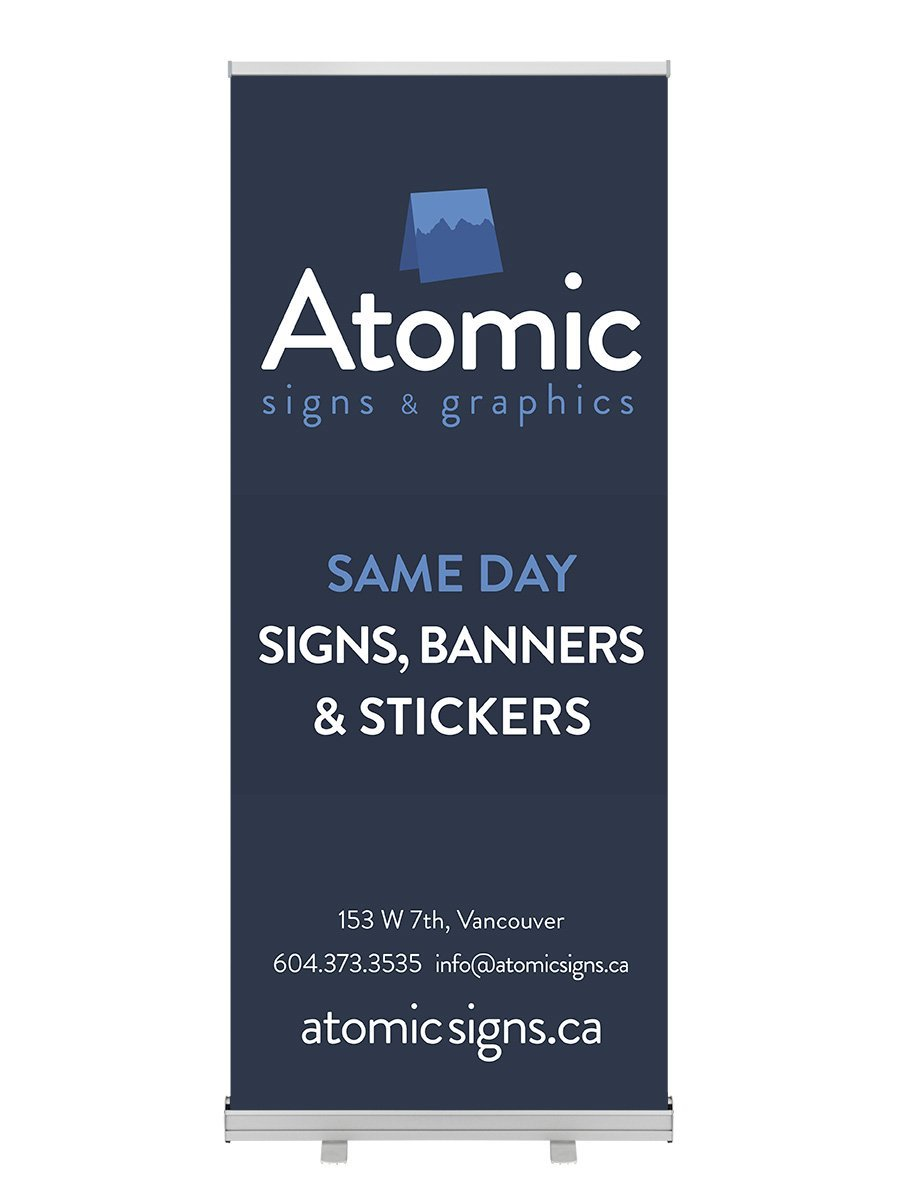 Same Day Economy Banner Stand
